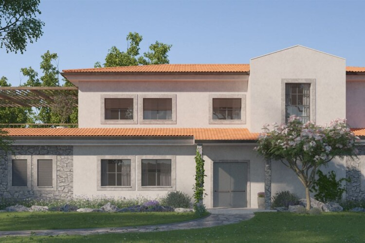 Magnificent duplex villa with 6-bedrooms of 630 m2 on the shores of the Mediterranean Sea