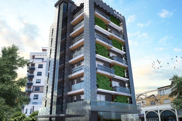 New modern apartment 3+1 with an incredible location in the center of Kyrenia