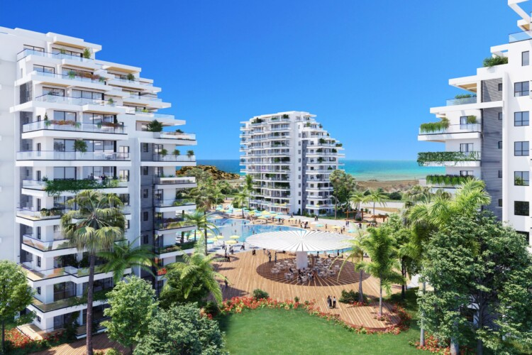 New exclusive 1 + 1 apartments on the picturesque Mediterranean coast