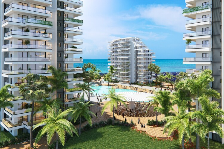 New exclusive 3 + 1 apartments on the picturesque Mediterranean coast