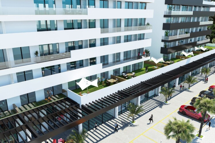 Exclusive 1+1 apartment in the central part of the port city of Famagusta