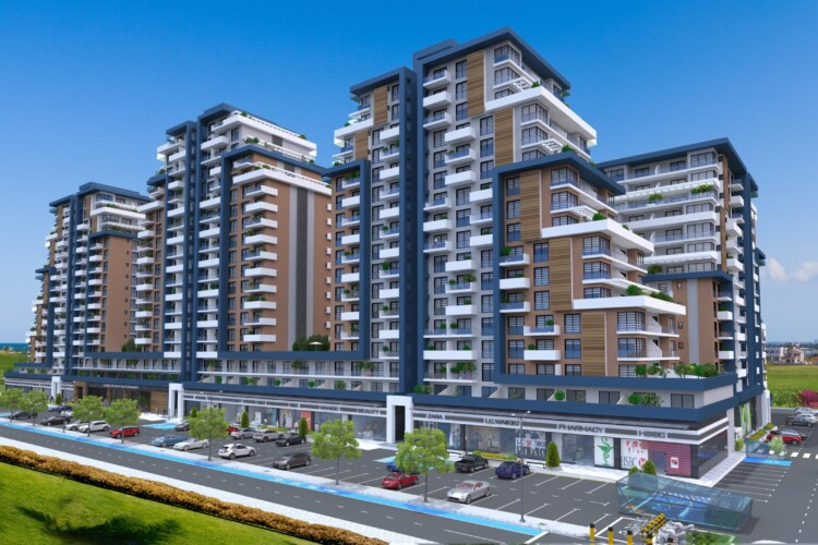 New luxury 2+1 apartments in the popular resort area of Iskele
