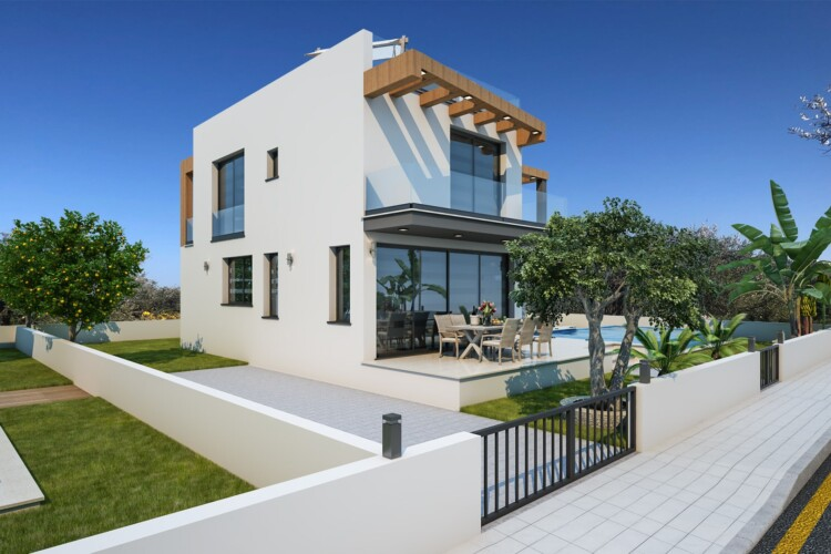 Incredible 4+1 two-storey villa with private pool in Catalkoy area